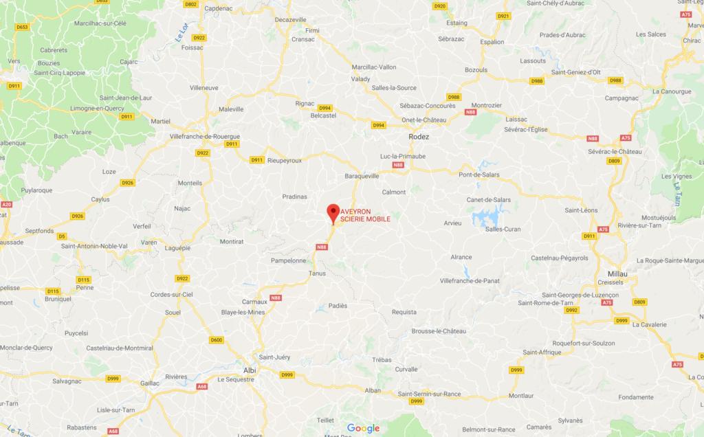 Venir à la scierie Aveyron Scierie Bois